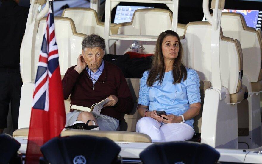 Billas Gatesas ir Melinda Gates