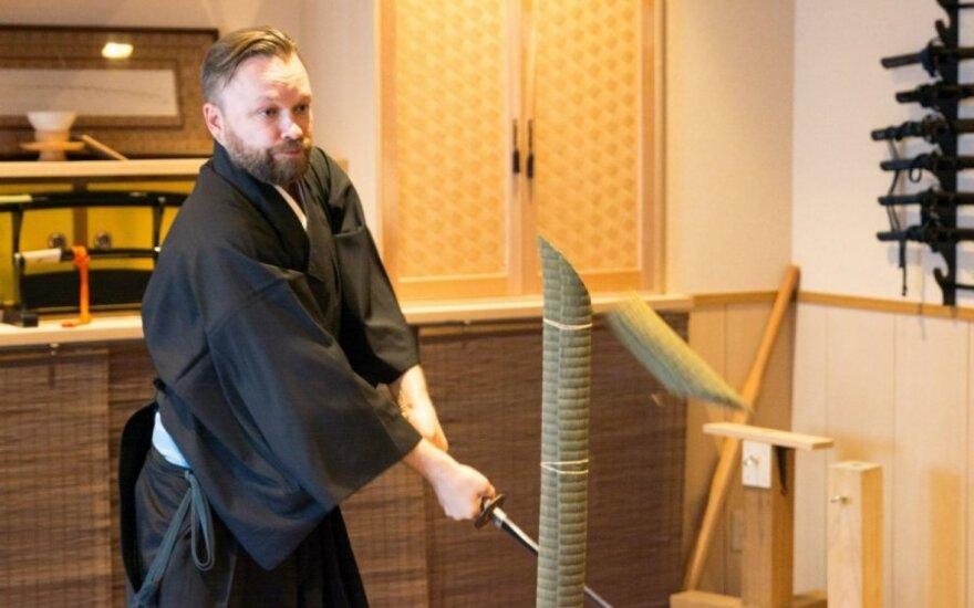 Martyno Starkaus ir Vytaro Radzevičiaus kelionės Japonijoje akimirka