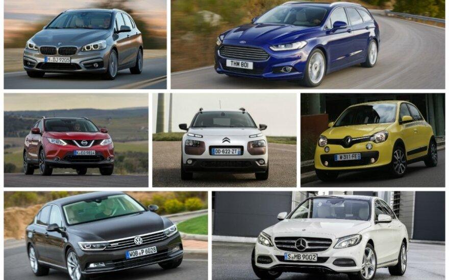 Europos Metų automobilio 2015 finalininkai