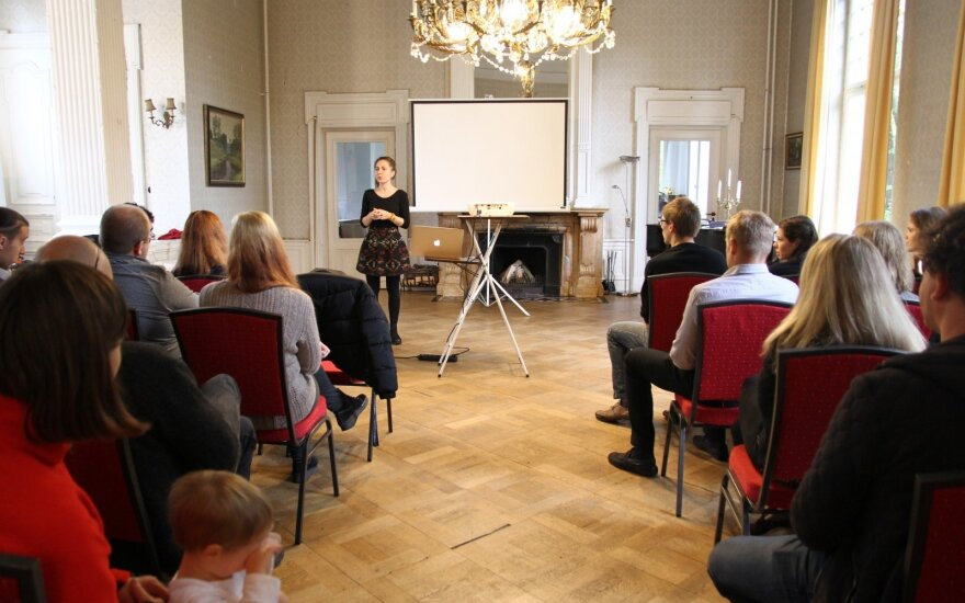 Lietuvių jaunimas Vokietijoje susitiko su garbiais svečiais