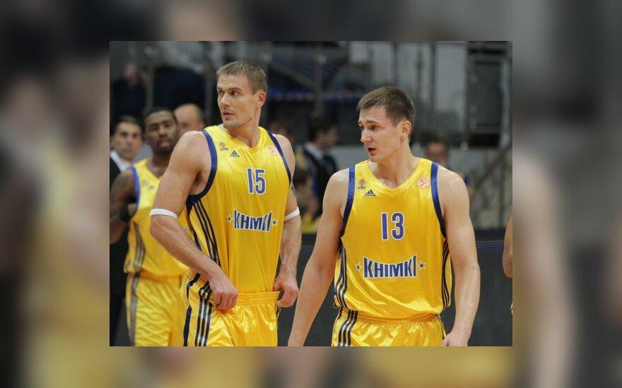 Robertas Javtokas ir Paulius Jankūnas