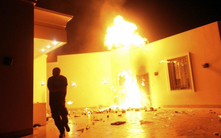Musulmonų išpuolis prieš JAV konsulatą Libijoje