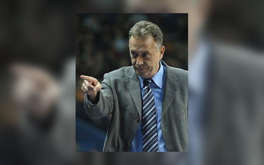 """Z.Sagadinas treniruos """"Zadar"""" krepšininkus"""