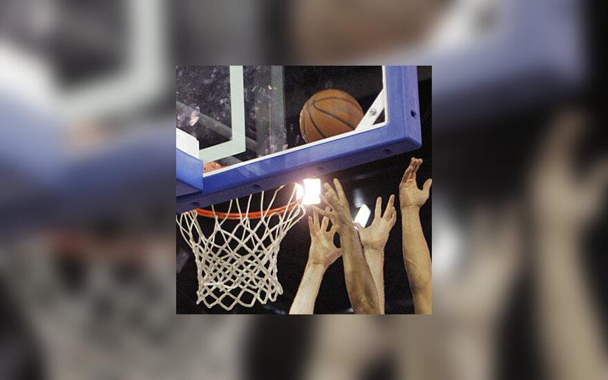 Krepšinis, kova, kamuolys, lenta