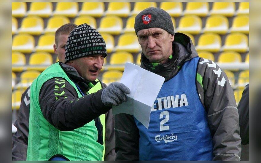 Czaba Laszlo ir Igoris Pankratjevas