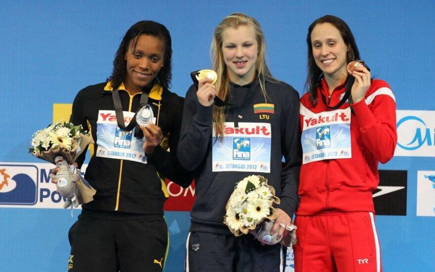 R.Meilutytė iškovojo dar vieną aukso medalį!