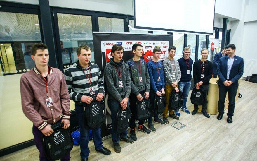 Išrinkti geriausi Lietuvos mechanikai