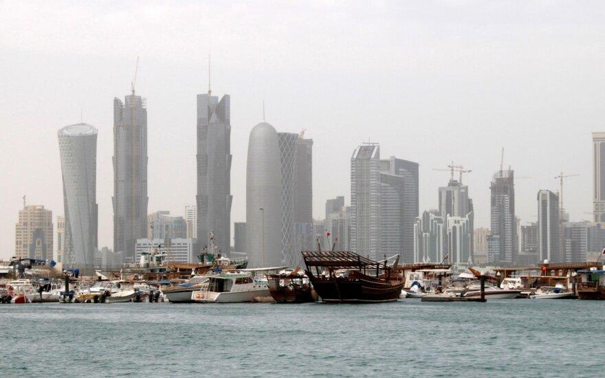 Nuo diplomatinės krizės pradžios Turkijos eksportas į Katarą patrigubėjo