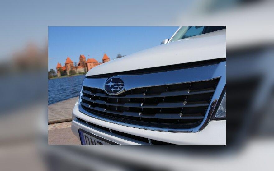 """""""Subaru"""" pristatys naujos kartos """"boxer"""" variklį"""