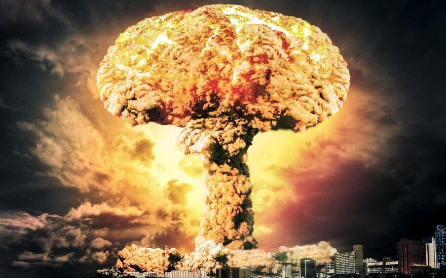 Atominės bombos sprogimas