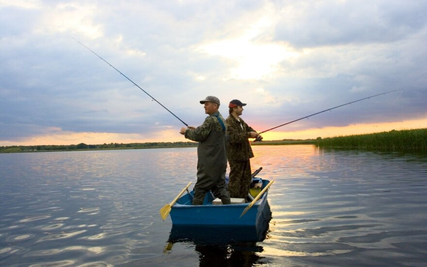 Bait your hook: fishing in Kaunas