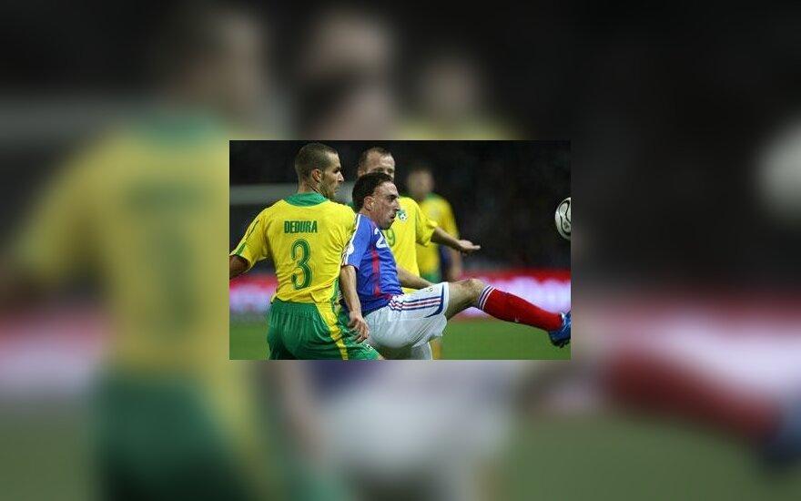 Igna Dedura kovoja su Francku Ribery