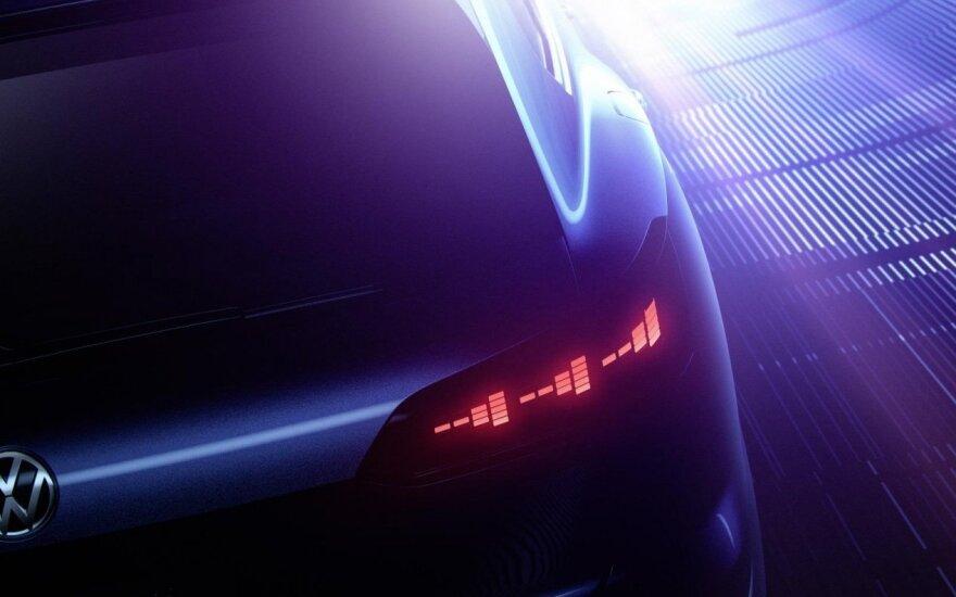 """Koncepcinis """"Volkswagen"""" visureigis"""