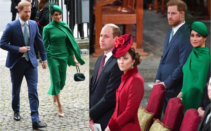 Princui Harris ir Meghan MarklePrincas Williamas ir Kate
