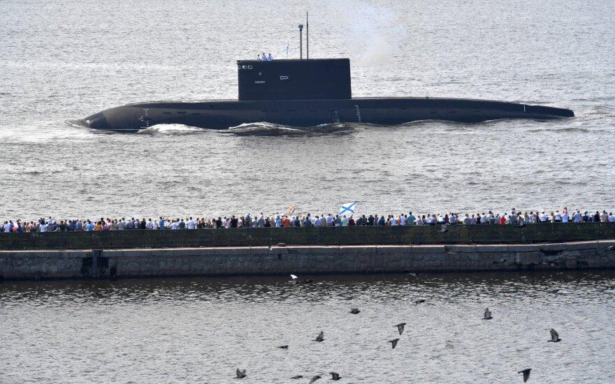 Rusijos povandeniniame laive tarnavęs karininkas gėrė ir keikė Putiną