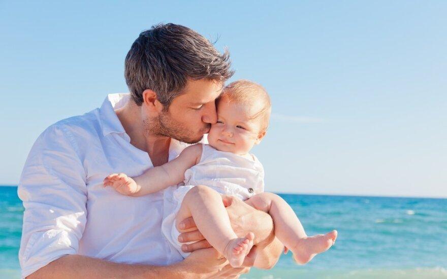 Keturi požymiai, kad jis bus geras tėvas