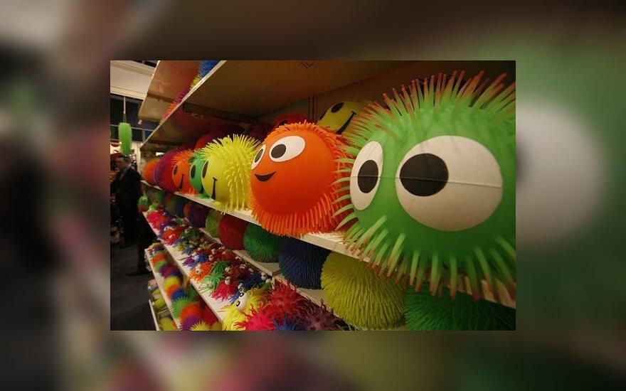 Ar visi vaikams skirti žaislai yra saugūs?