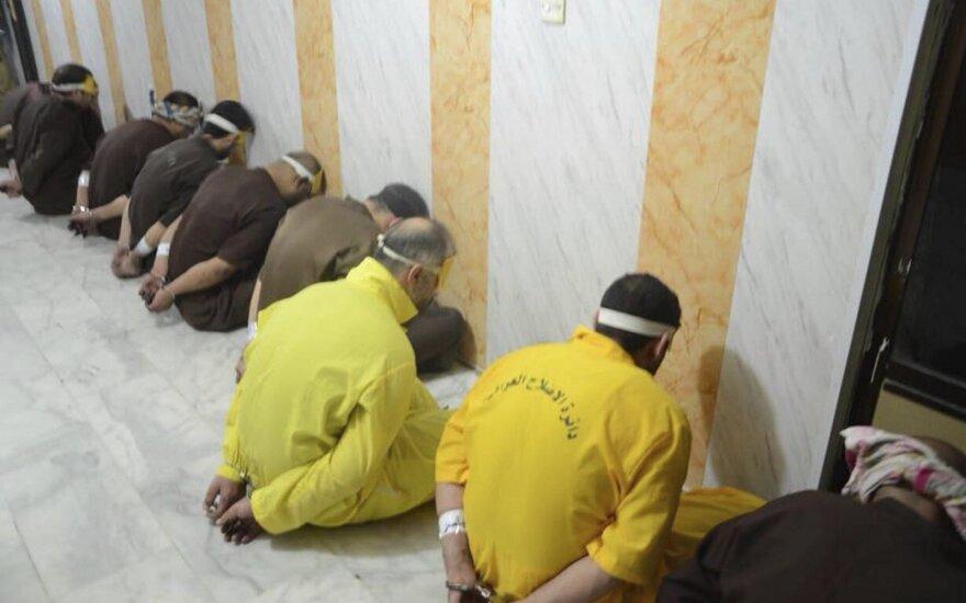 Irake įvykdyti mirties nuosprendžiai 12 nuteistų džihadistų