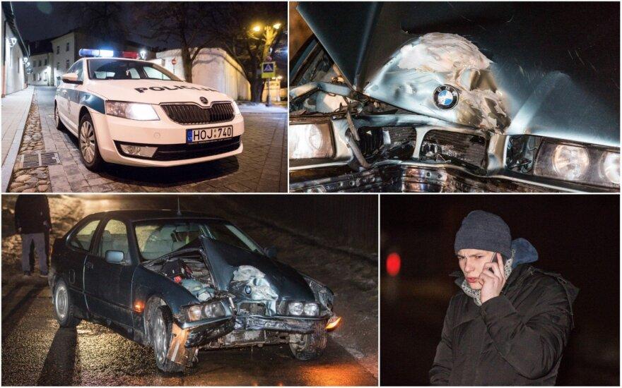 Girtas 18-metis Vilniaus pakraštyje suknežino svetimą kalėdinį BMW