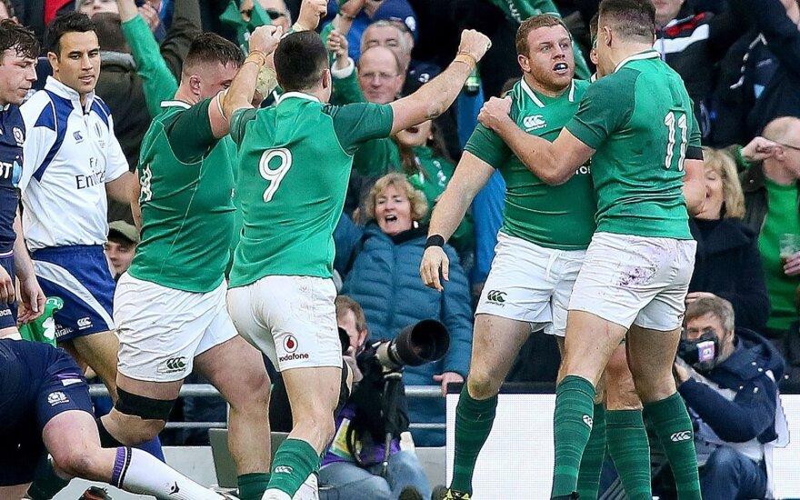 Airijos regbininkai