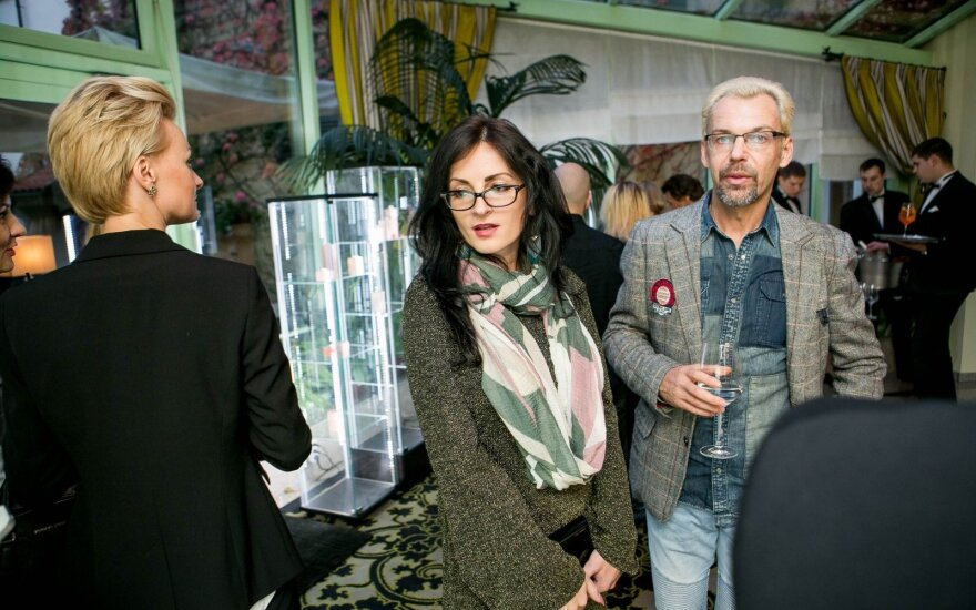 Martyna Kerbedytė ir Aras Vėberis