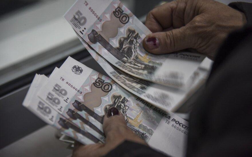 Pensijos Rusijoje per metus sumažėjo