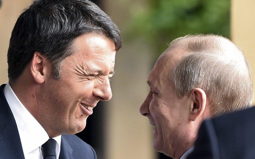 Vladimiras Putinas, Matteo Renzi