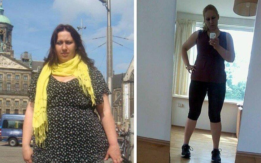 Tai ne fotošopas: pradėjusi bėgioti Agnė pasikeitė neatpažįstamai