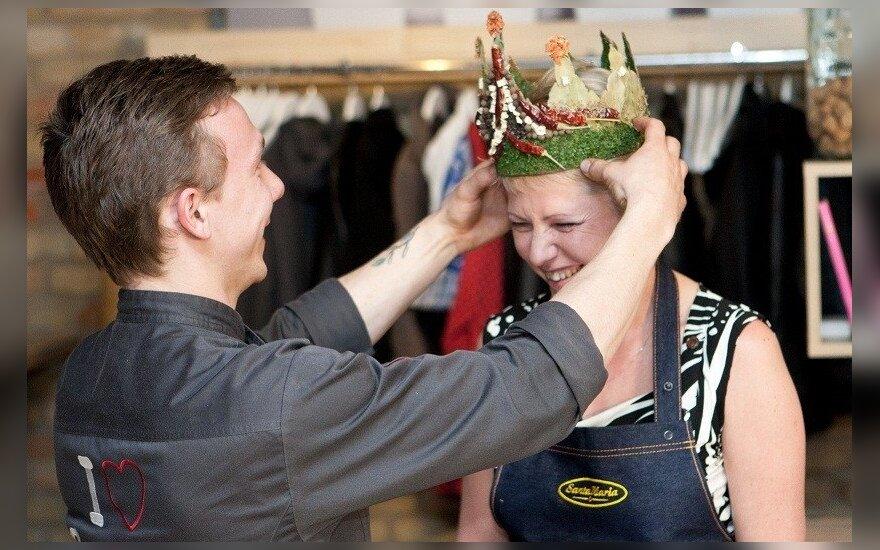 Dieną be dietų Lietuvoje išrinkta pirmoji prieskonių karalienė