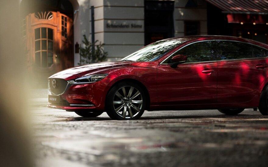 "Naujas ""Mazda 6"" modelis"