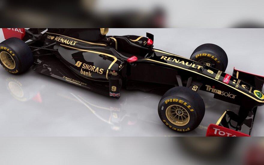 """""""Lotus Renault"""" bolidas"""