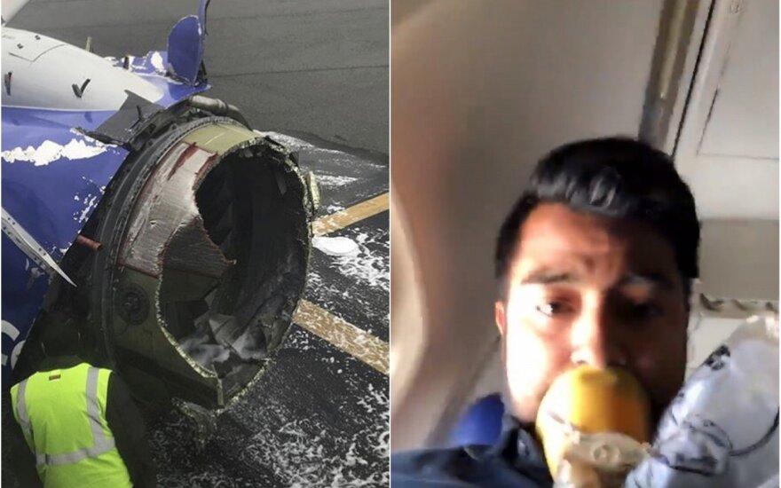 Paskelbtas oro dispečerių ir pilotės pokalbių įrašas: kokį siaubą teko išgyventi keleiviams
