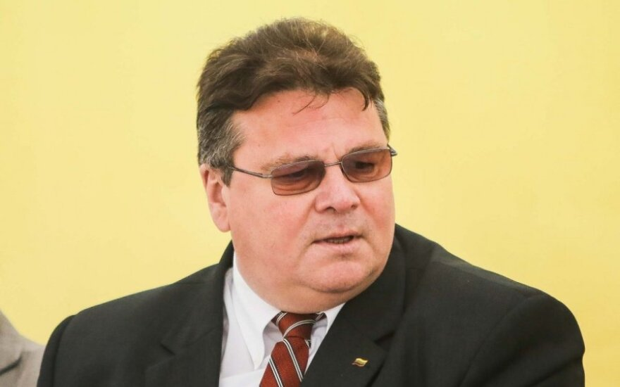 L.Linkevičius: geriau šauti sau į koją, negu leisti, kad šautų mums į galvą