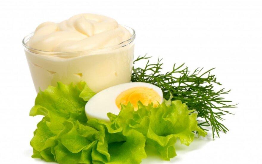Virtas kiaušinis su padažu