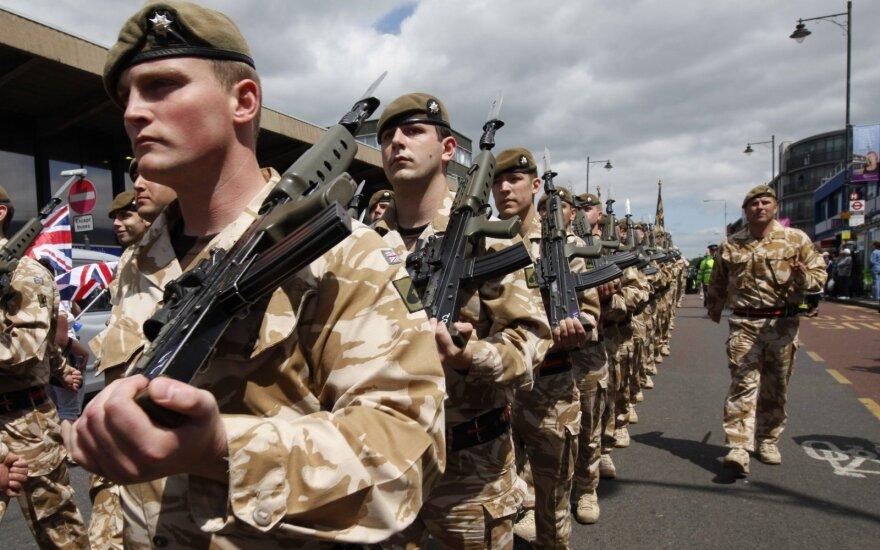 NATO stiprina gynybą Baltijos regione: siunčia į Estiją parengtą kovos veiksmams batalioną
