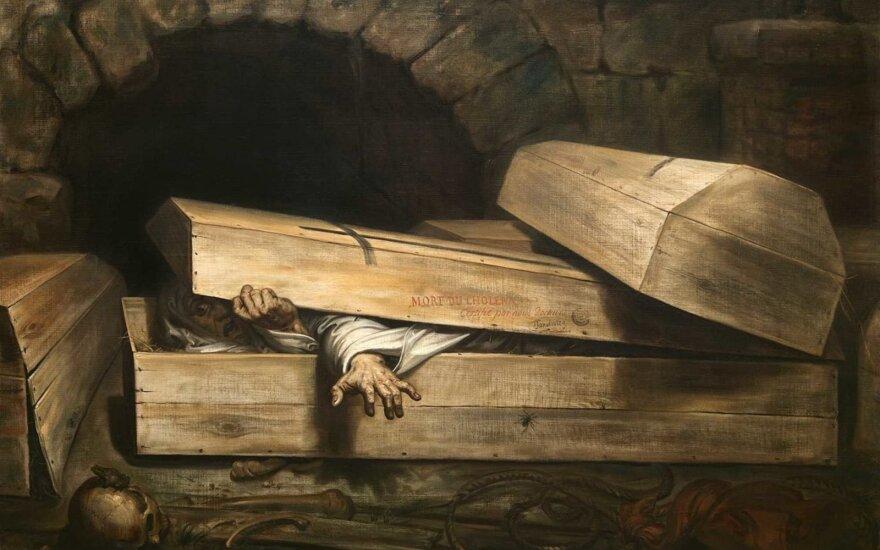 Baimė būti palaidotam gyvam: kokiomis priemonėmis žmonės stengėsi to išvengti?