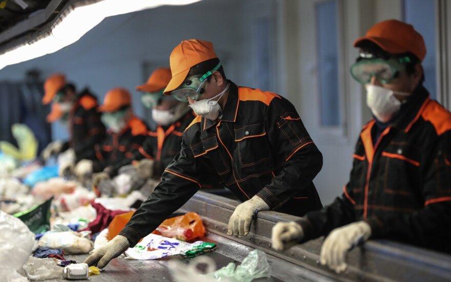 Rūšiavimo centras Kinijoje