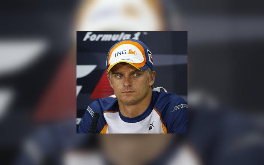 "Heikki Kovalainenas (""Renault"")"