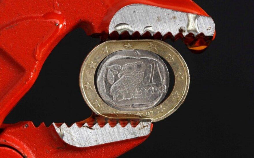 Euro zonos metų pabaiga: ką pagyrė, o ką subarė?