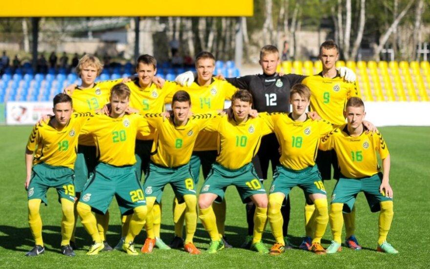 Lietuvos jaunių U-16  futbolo rinktinė
