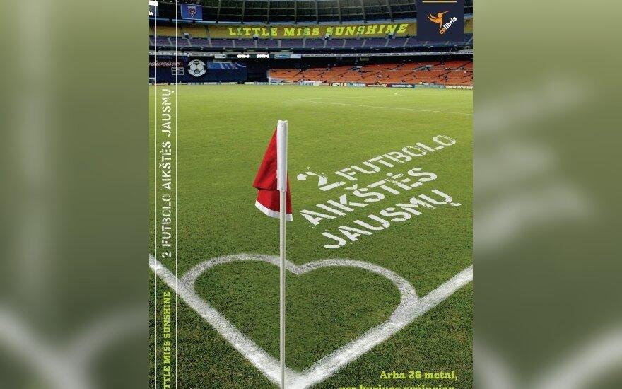 """DELFI <i>blogerės</i> mintys sugulė į knygą """"2 futbolo aikštės jausmų"""""""