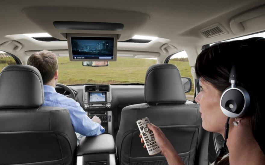 Televizorius automobilyje