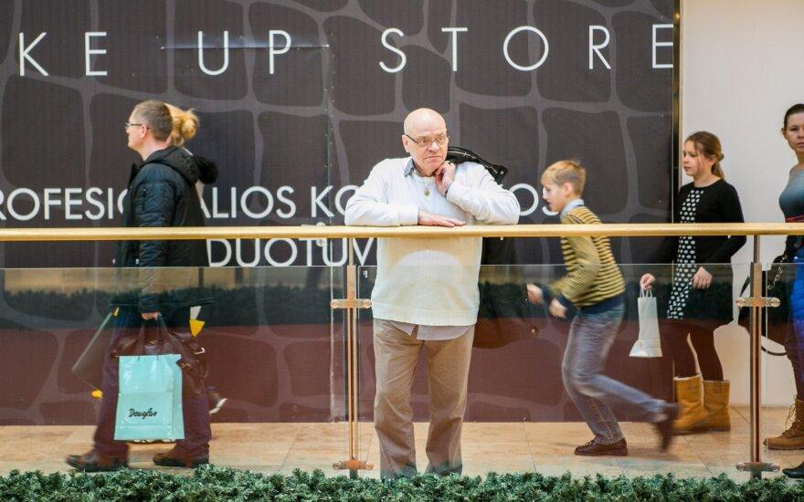 Lietuviai įvardijo, kokiais tikslais traukia į prekybos centrus