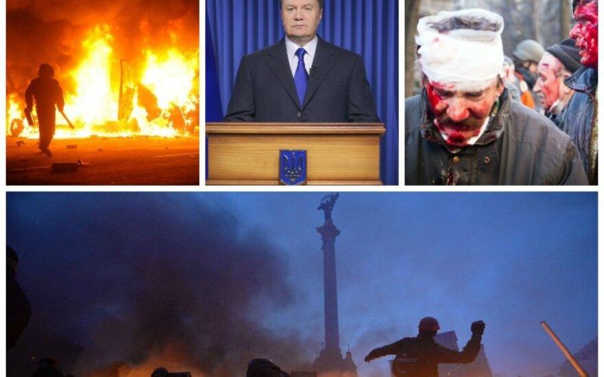 V. Janukovyčius užsiima rokiruotėmis