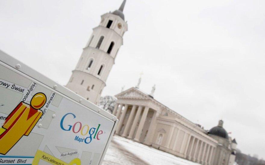 "Lietuvoje jau veikia ""Google Maps Street View"""