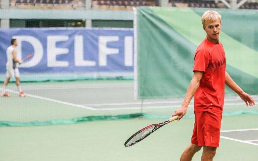 L. Mugevičius žais ITF turnyro Turkijoje aštuntfinalyje