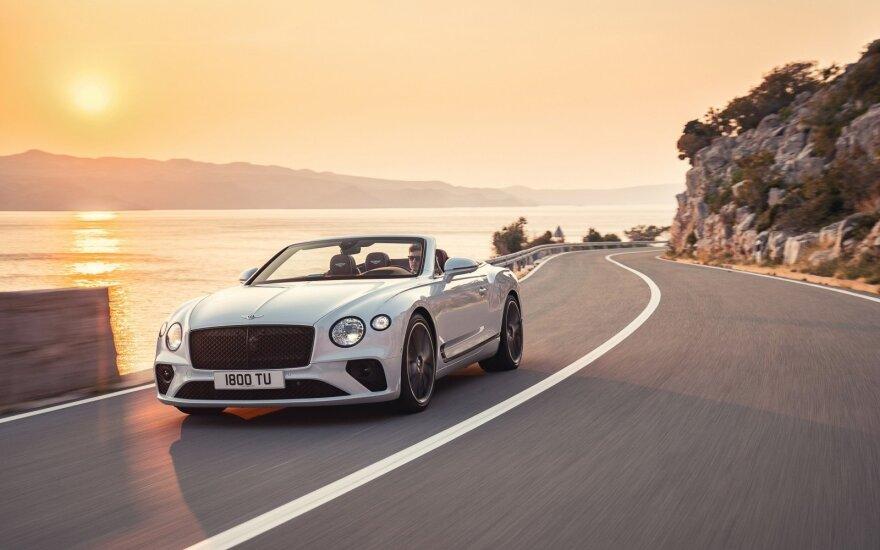 """""""Bentley"""" šimtmečio proga pristatė išskirtinius modelius"""