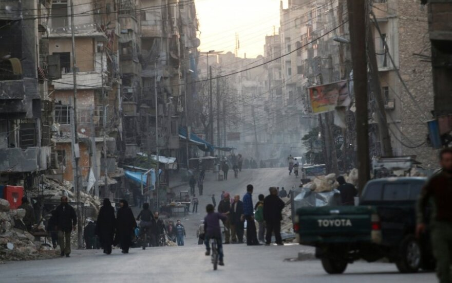 Naujasis JT vadovas: karas Sirijoje yra pasaulinio masto vėžys