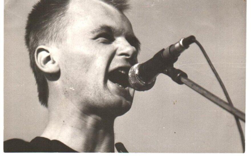"Grupė ""BIX"" 1988 metais ""Roko marše"""