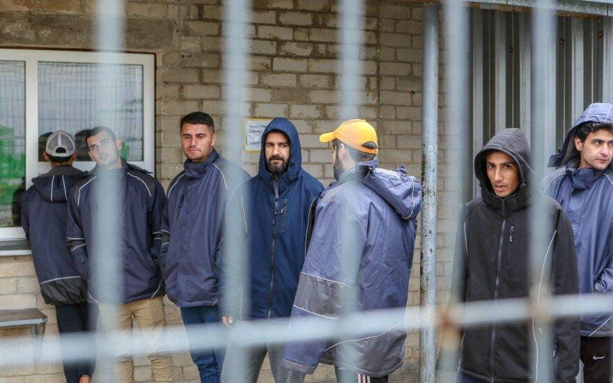 Kybartų pataisos namuose apgyvendinti migrantai